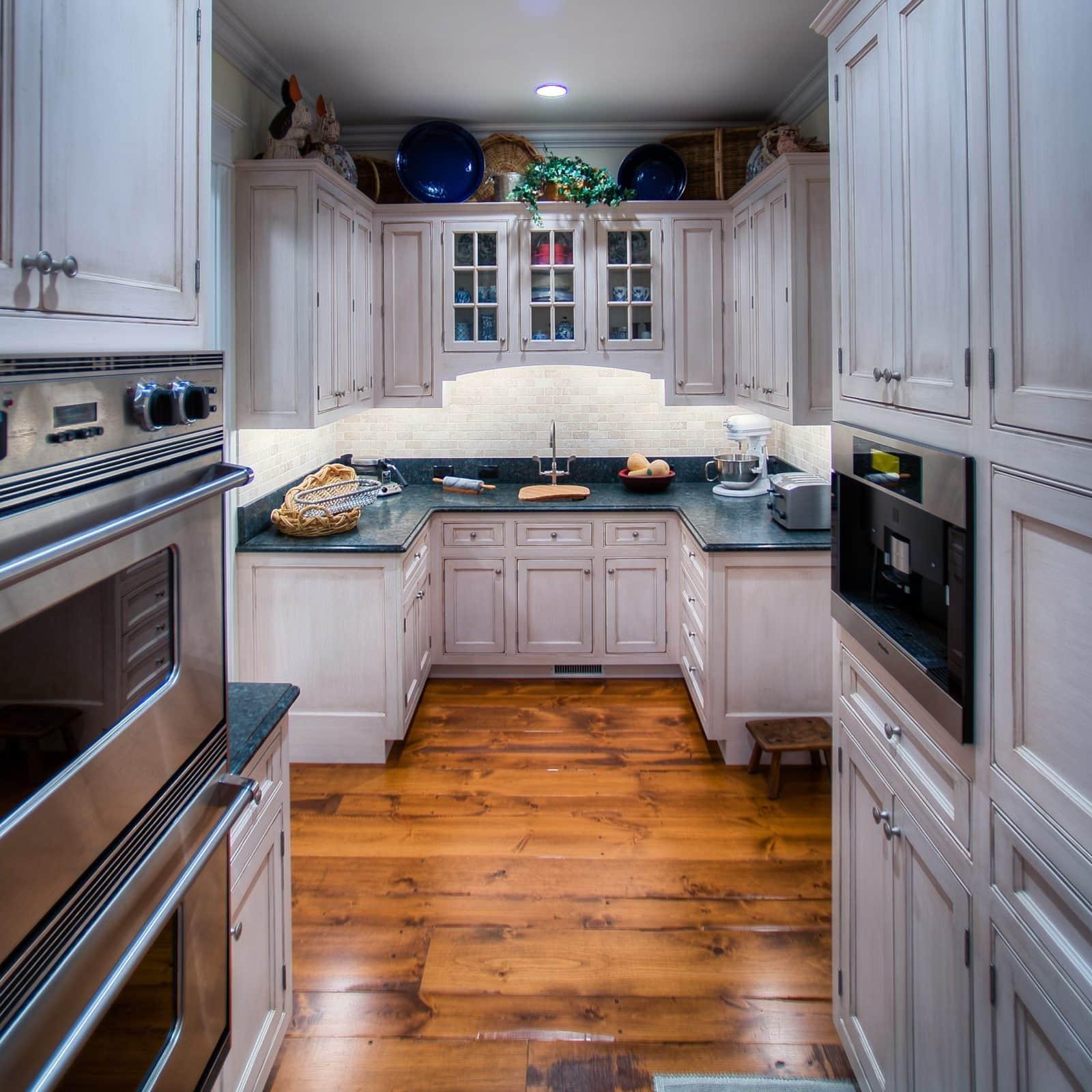 butler's kitchen in luxury home designed by Stillwater Architecture