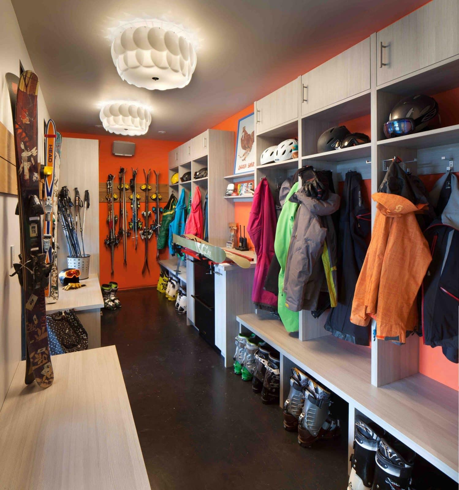 ski in ski out house, luxury ski house